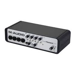 M AUDIO M-TRACK QUAD