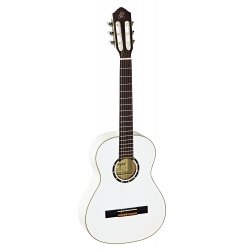 GUITARE 3/4 ORTEGA R121 EPICEA, BLANC