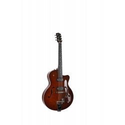 5th Avenue Uptown T-Armond Havana Burst avec tric
