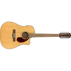 FENDER CD-140SCE 12-String, Walnut Fingerboard, Natural w/Case