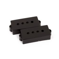 FENDER Pickup Covers, Pure Vintage Precision Bass® Black (2)