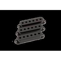 FENDER Pickup Covers, Stratocaster® Black (3)
