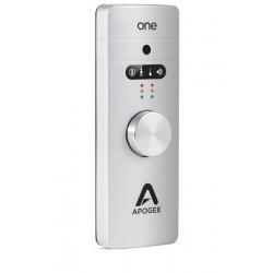 APOGEE ONE - Interface audio USB 2 entrées / 2 Sorties - 1x préamplis mic/instrument - 24bits/96 kHz
