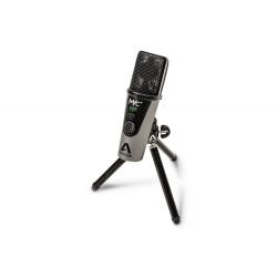 APOGEE MIC PLUS - Microphone à condensateur USB cardioide avec sortie casque