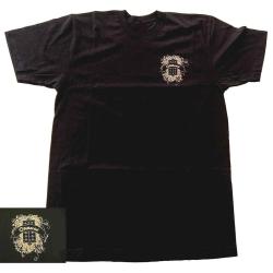 DIMARZIO DD3500BK-L - T-Shirt DiMarzio noir avec logo - Taille L
