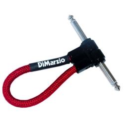 DIMARZIO EP17J06RRRD Jumper - Câble jack 15cm - rouge