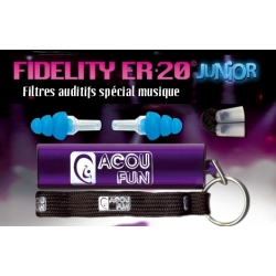 ACOUFUN FIDELITY ER 20 BLACK METAL EDITION