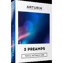 ARTURIA Pack de 3 plugins Préamplis