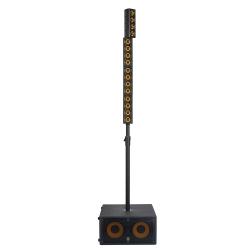 """MARKAUDIO ERGO SYSTEM 4 - Système de sonorisation 1400W Peak - 1x subxoofer 2x8'' et 2x satellites 4x2"""""""