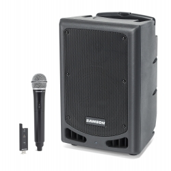 SAMSON EXPEDITION XP208w - Sonorisation portable - 200W - Bluetooth - Microphone sans fil XPD2
