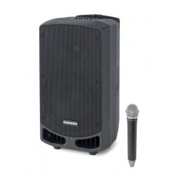 SAMSON Expedition XP310w - Sonorisation portable 300W avec microphone sans fil - Bande de fréquence D (542–566 MHz)