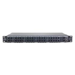 SAMSON SM10 - Mixeur ligne 10 voies -  rack 1U