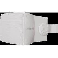 """AUDAC 2 v. IP55 5"""" 50W/8O-100V Blanc"""