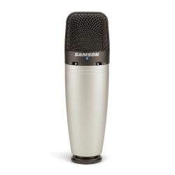 SAMSON C03 - Microphone à condensateur directivité sélectionnable - avec housse