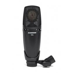 SAMSON CL8a - Microphone à condensateur cardioïde, omni et figure en 8 - finition noire