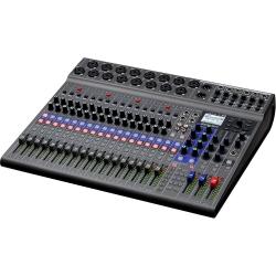 ZOOM L-20 LIVETRACK - Console mixage 20 voies - 6 mixages casques individuels - enregistreur multipiste et interface audio