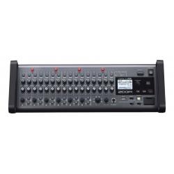 ZOOM L-20R LIVETRACK - Console mixage 20 voies - 6 mixages casques individuels - enregistreur multipiste et interface audio - f