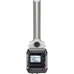 ZOOM F1-SP - Enregistreur de terrain 2 pistes + microphone canon - noir