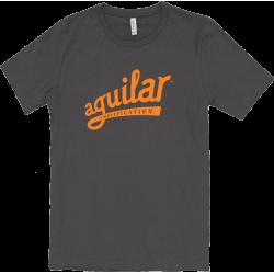 AGUILAR T-Shirt Gris-Orange Medium