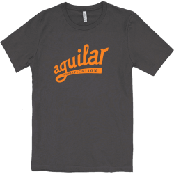 AGUILAR T-Shirt Gris-Orange XL