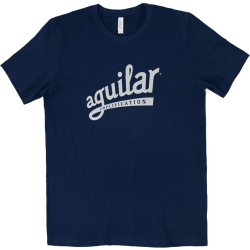 AGUILAR T-Shirt Navy-Silver Large