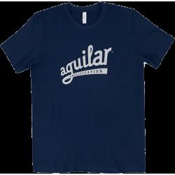 AGUILAR T-Shirt Navy-Silver XL